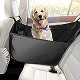 Focuspet Hunde Autositz, Einzelnsitz Für Rückbank, HundedeckeAuto Wasserdicht Abriebfest 53 * 60 * 35CM