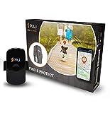 PAJ GPS PET Finder GPS-Tracker zum Schutz für Hunde und Katzen Spritzwasserdicht mit 1-3 Tage Akkulaufzeit, Ortung per App