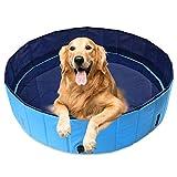AMIGOB Hundepool Doggy Pool Swimmingpool Badewanne Pool Hundepool (120 * 30cm) Schwimmbecken Planschbecken