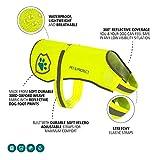 Premium Hunde Warnweste Neon öffentlichkeitswirksamer Sicherheit | Walking, Joggen, Training 16–130lbs.
