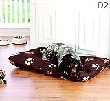 Hundekissen XL Hundebett 100 x 70 Wasserabweisend Hundekorb Hundesofa Unterlage, Design - Motiv:Design 2