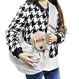 AODOOR Single-Schulter Sling Bag Haustier Hund Katze Tasche Rucksack für Hunde Hunderucksack