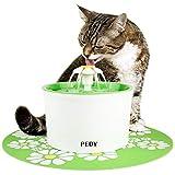 Katzen- und Hundetrinkbrunnen Haustier Blumentrinkbrunnen Trinkbrunnen für Katzen und Hunde Automatisch Leise Haustier Wasserbrunnen Wasserspender mit Aktivkohlefilter