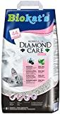 Biokat's Diamond Care Fresh Katzenstreu – Hochwertige Klumpstreu für Katzen mit Aktivkohle und Aloe Vera – 1 Papierbeutel à 8 L