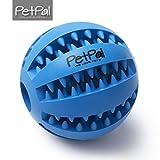 PetPäl Hundeball mit Zahnpflege-Funktion Noppen Hundespielzeug aus Naturkautschuk   RobusterHunde Ball Ø 7cm   Hundespielball für Große & Kleine Hunde   Kauspielzeug aus Naturgummi für Leckerli