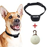 Nakosite PET2433 das beste Anti-Bell Hundehalsband, stoppt das Bellen von Hunden. Es verwendet akustisch wahrnehmbare Geräusche und Vibrationen. KEINE ELEKTROSCHOCKS. Fortschrittlichste Chiptechnologie mit 7 einstellbaren Empfindlichkeitsreglern. Flexible und verstellbare Nylonbänder für kleine, mittlere oder große Hunde. Farbe: Schwarz.