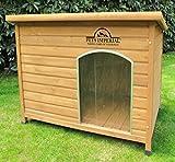 Pets Imperial Große, isolierte Norfolk Hundehütte aus Holz mit entfernbarem Boden zur einfachen Reinigung DE