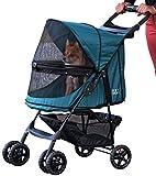 Rosewood 02669 Pet Gear Hundebuggy ohne Reißverschlüsse, smaragdgrün