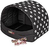 HobbyDog BUSCWL5 Souffleur + Spieltau gratis Hundehöhle Katzenhöhle Hundebett Katzenbett Hundehaus Schlafplatz Hundekorb Hund Haus Hundehütte S-XL (XL (60 x 49 cm))