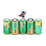 MASBRILL Anti-Bell Halsband Batterien mit 5 Pack 6V 4LR44-Alkalibatterie 476A / PX28A / A544 / K28A / L1325 für Vibrations Hundehalsband Kamerataschenlampe