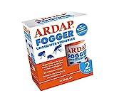 ARDAP Fogger 2 x 100ml - Effektiver Vernebler zur Ungeziefer- & Flohbekämpfung für Haushalt & Tierumgebung - für Räume bis 30m² - Wirksamer Schutz für bis zu 6 Monate