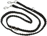 Nobby Führleine geflochten schwarz L: 200 cm; B: 25 mm