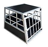 Merschbrock Trade GmbH Hundetransportbox S fürs Auto, Reisebox, Hundebox, Käfig, Transportbox