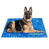 WINSHIDEN kühlmatte für Hunde 80X120CM Haustier-kühlmatte Hund Innoxious Gel Self Kühldecke, Großartig für mittlere und große Hunde Katzen im heißen Sommer