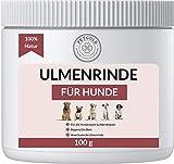 Petgold Ulmenrinde für Hunde 100g – Premium Slippery Elm Bark Pulver Ulmenrindenpulver Hund