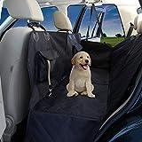 Hundedecke Auto Rückbank/Kofferraum/Vordersitz + gratis Napf   Wasserdicht rutschfest Waschbar   Hunde Autoschutz Kofferraumschutz Autositz Sitzschutz   Autodecke Schutzdecke Schondecke Weich
