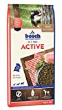 bosch HPC Active | Hundetrockenfutter für ausgewachsene Hunde aller Rassen mit gesteigerter Aktivität, 1 x 15 kg
