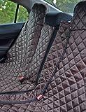 tierlando Autoschondecke REX teilbar Reißverschluss Schutzdecke Auto 160 180 200 x 140cm Größe: SMR 200 cm | Farbe: 01 Braun