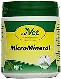 cdVet MicroMineral Hund & Katze 500g - Nahrungsergänzung für Haustiere mit Mineralstoffen und Spurenelementen wie Magnesium und Calcium sowie Vitaminen