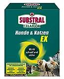 Substral Celaflor Hunde & Katzen Ex , Hund, Marder und Katze Abwehr und Vertreibungsgranulat, mit Sofortwirkung, 200g