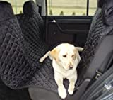 tierlando® Autoschondecke MAX Auto Hundedecke Schutzdecke 160 180 200cm x 140cm Größe: SM 200 cm | Farbe: 02 Graphit