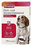 beaphar 17596 Floh- und Zeckenhalsband für Hunde, 60 cm