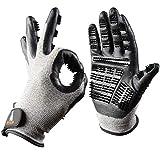 PetsFellow Fellpflege-Handschuhe, Bürste für Hunde-Haare, Katzen-Haare, Pferde-Haare, 1 Paar Fellpflegehandschuh