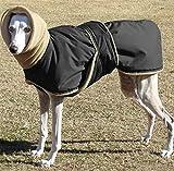 Idepet Warmer Hundemantel Hundejacke Winddichte verdickte Hunde Weste Kleidung mit warmem Halsband Hunde Hoodie Outfit für mittelgroße Hunde Teddy Golden Retriever Alaska