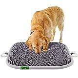 SAKUUMI Schnüffelteppich Hunde mit Fester Saugnapf, intelligenzspielzeug Schnüffelmatte Schnüffelspielzeug waschbar für Hunde Katzen