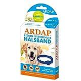 ARDAP Zecken- & Flohschutzhalsband für Hunde über 25kg - Bis zu 4 Monate nachhaltiger Langzeitschutz - Natürlicher Wirkstoff gegen Zecken & Flöhe
