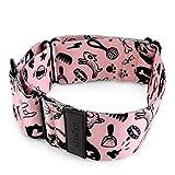 Nenoo Seidiges Martingalhalsband für Hunde und Windhunde, die aus normalen Halsbändern schlüpfen 30-49 cm