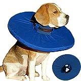 Tepaw Premium Halskrause für Hunde (Gr. 3) Made in EU | Kragen geeignet als Leckschutz und Schutzkragen | Patentierter Komfort und Schutz nach Operationen und Verletzungen | Halskragen aus Stoff