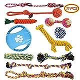 Welpenspielzeug, Docatgo11pcs Kauspielzeug Interaktives Seil Spielzeug für Kleine mittlere große (TypeB)
