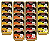 animonda Vom Feinsten Adult Hundefutter, Nassfutter für ausgewachsene Hunde, Schlemmerkern mit Rind (Mix 1), Ei + Schinken, 22 x 150 g