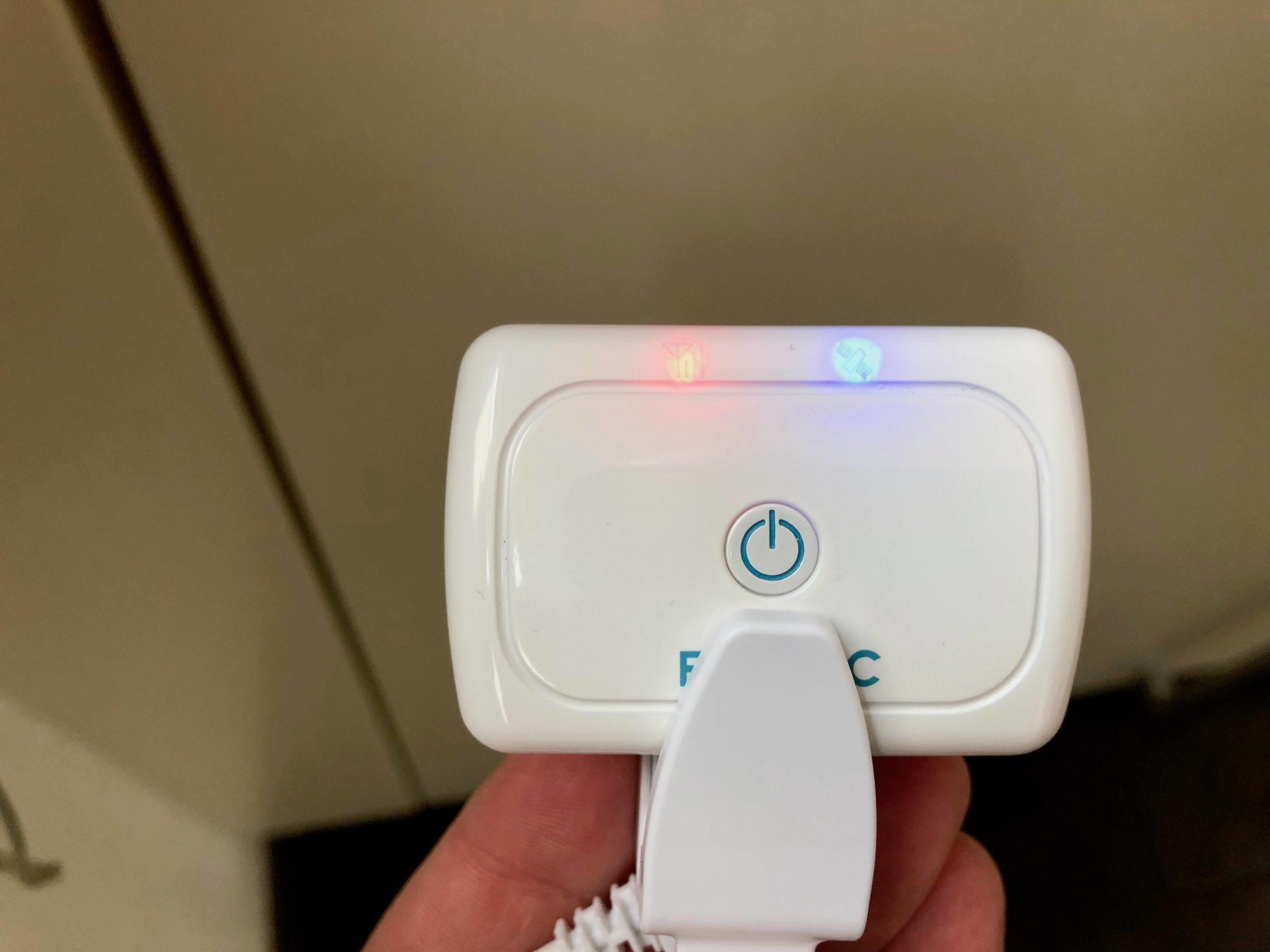 PetTec GPS Tracker voll aufgeladen