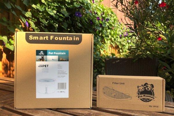 PetTec Pet Fountain Trinkbrunnen für Hunde im Praxistest_0536