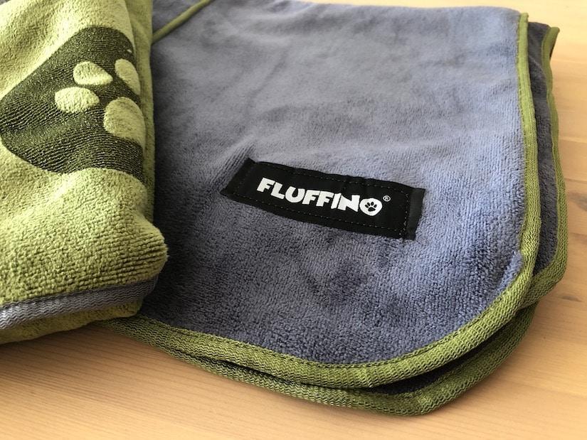 Das Handtuch für Hunde von Fluffino