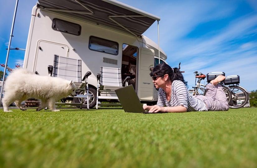 Wohnmobil mieten mit Hund: die Ausstattung